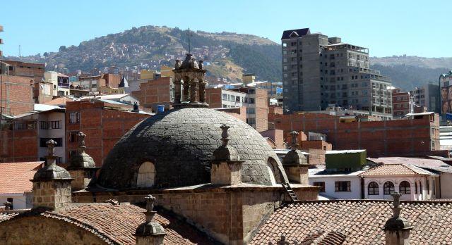 Über den Dächern von La Paz