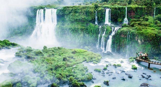 South America Argentina Brazil Iguazu Falls shutterstock_145210222