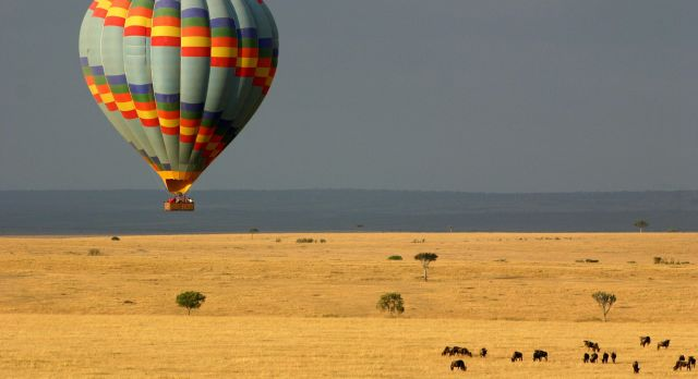 Soaring Over the Masai Mara, shutterstock_41651104