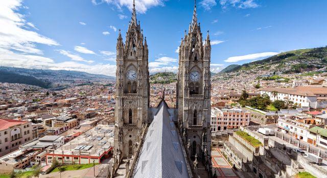 Die Kathedrale von Quito gehört zu den schönsten Gebäuden Ecuadors