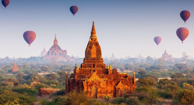 Eine Bagan Ballonfahrt ist das Highlight Ihrer Myanmar Luxusreise