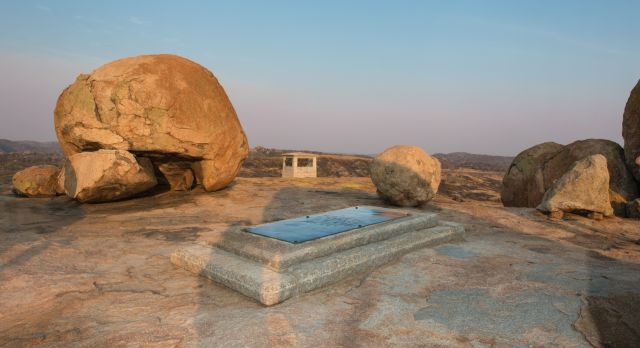 Cecil Johns Rhodes Graves in Zimbabwe
