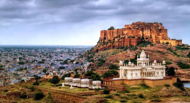 Blue city Jodhpur, Rajasthan - north or south india