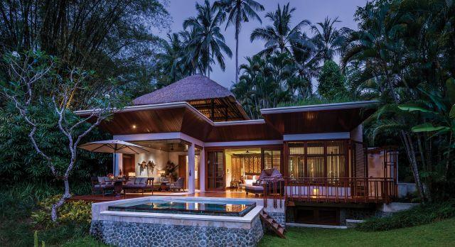 Enchanting Travels Indoensia Tours Bali Hotels Four Seasons Sayan pool villa