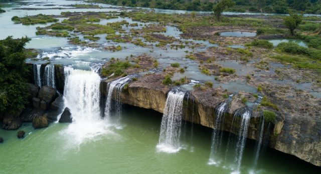 Nur Waterfalls at Buon MA Thout -