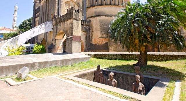 Slave Market Memorial and Stone Town Church