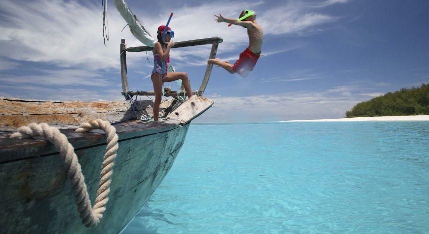 Go snorkeling in Zanzibar