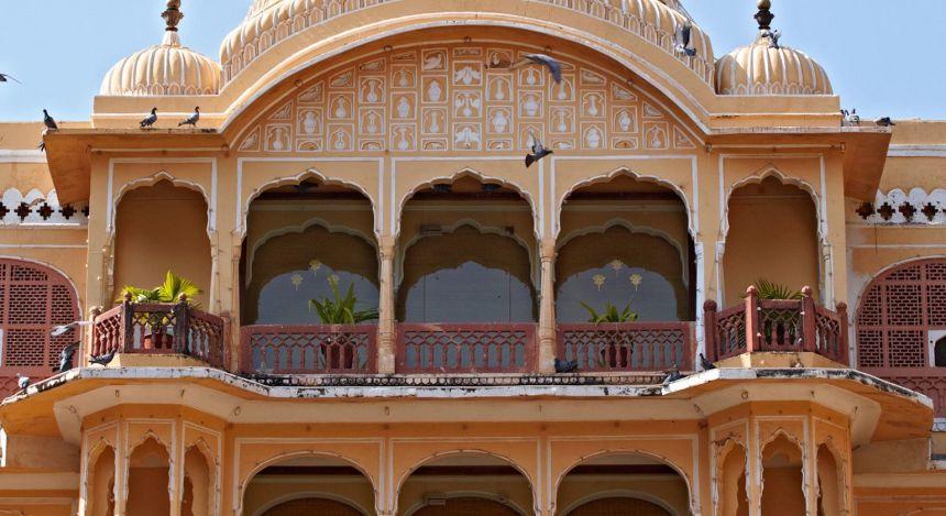 Enchanting Travels - Indien Reisen- Samode Village-Samode Palace -Außenansicht