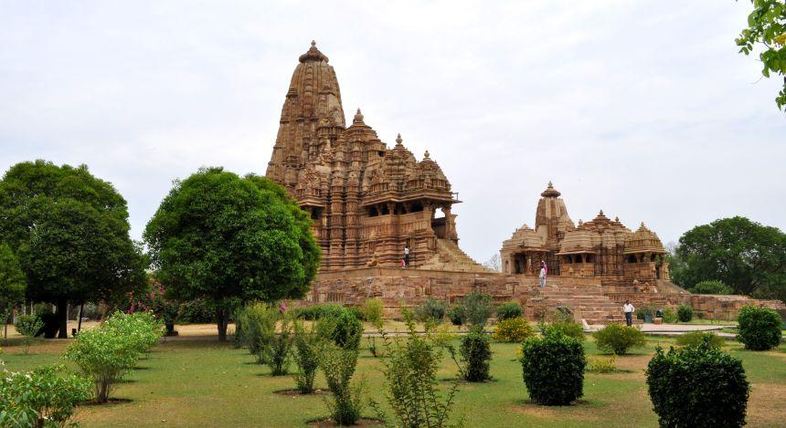 Die Tempel von Khajuraho, Indien