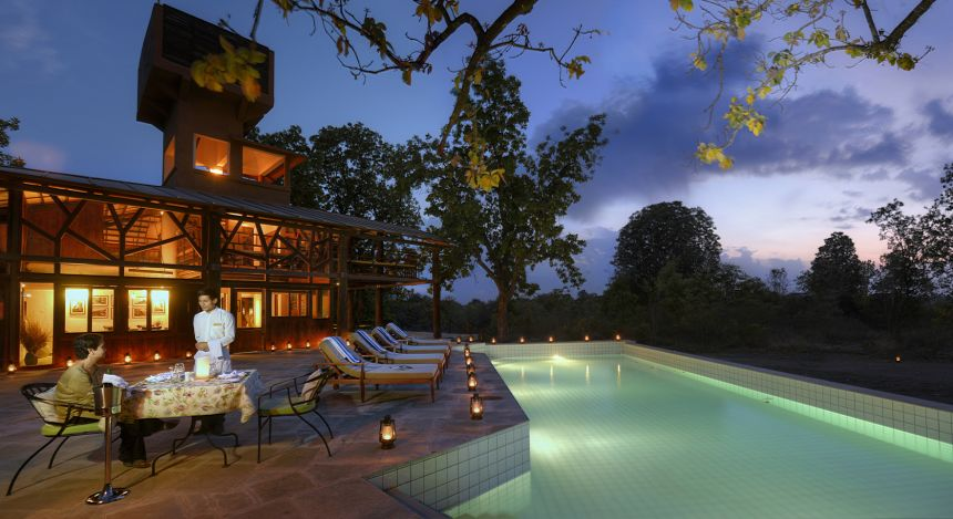 Safari in India: Pench Tree Lodge