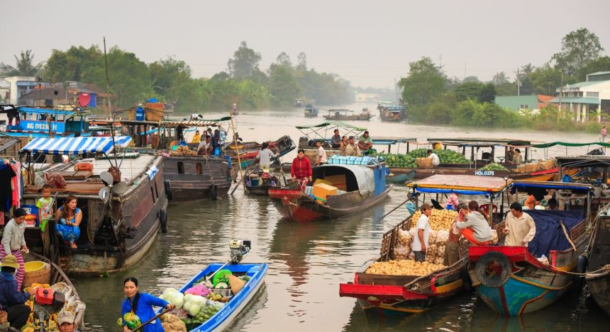 Asia Travel Deals: Floating markets
