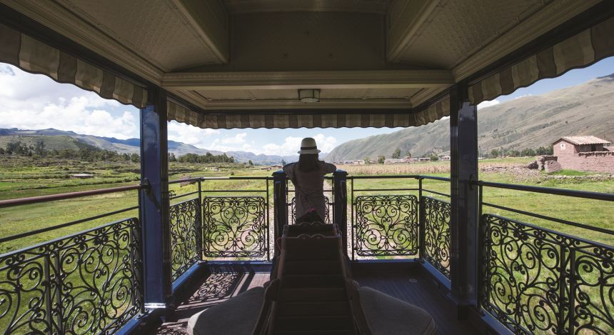 Belmond Andean Explorer Luxury Train in Peru