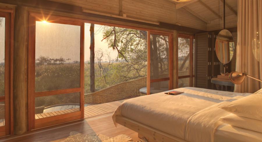 Beste Reisezeit Okavango Delta - Safari Camp