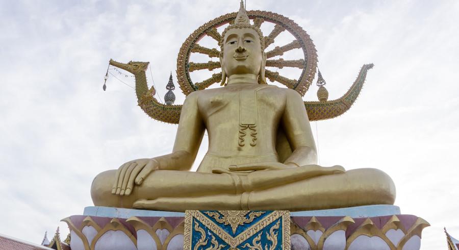 Buddha Statue auf Koh Phangan
