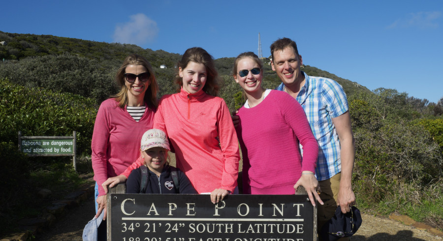Familie Voss während Ihrer Individualreise im südlichen Afrika