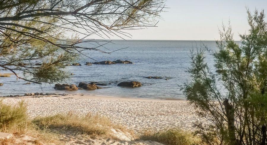 Ruhige Hauptstadt: Montevideo in Uruguay, hier ein abgelegener Strand