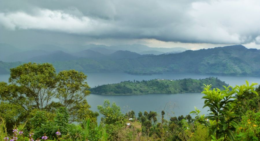Wundervolle Landschaften auf Ruanda Safaris