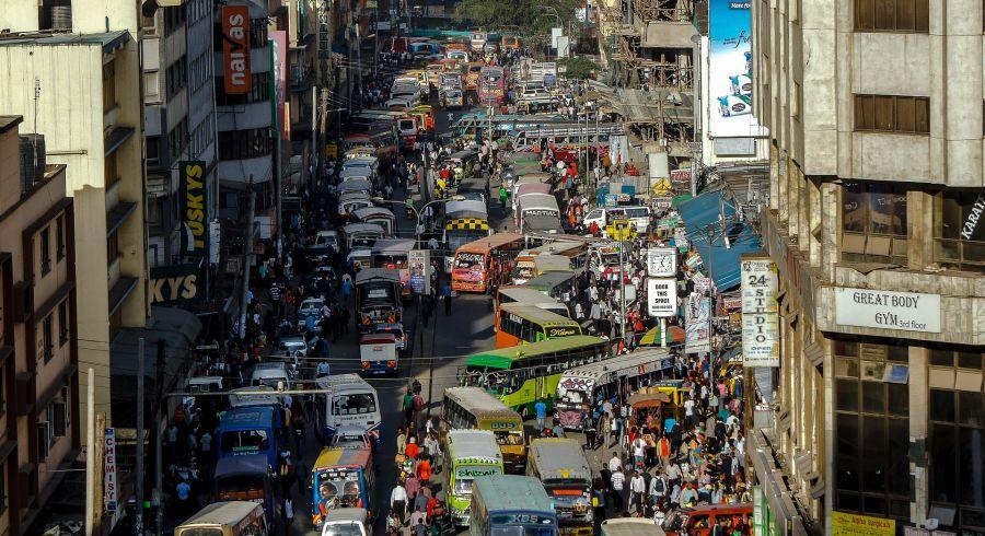 Kenia Sicherheit: Innenstadt von Nairobi