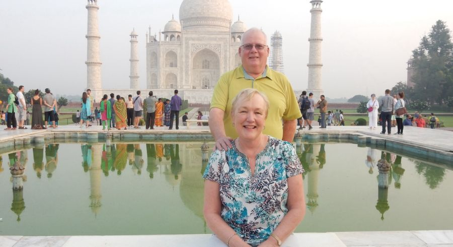 Enchanting Travels India Guests Janet Sheehan
