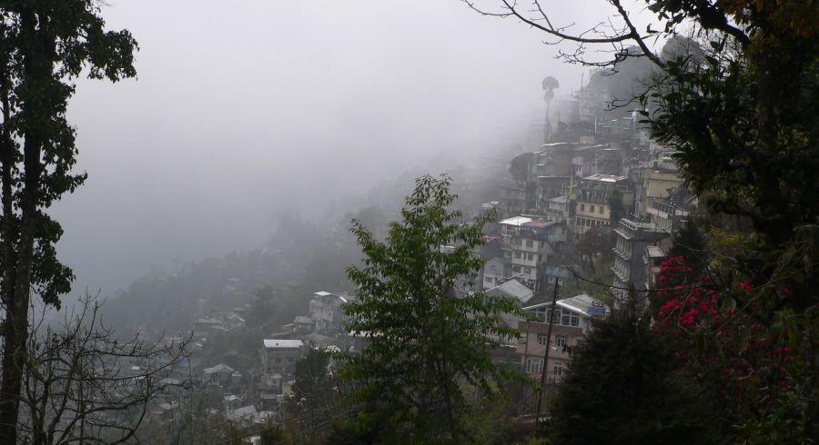 Nebel in Sikkim