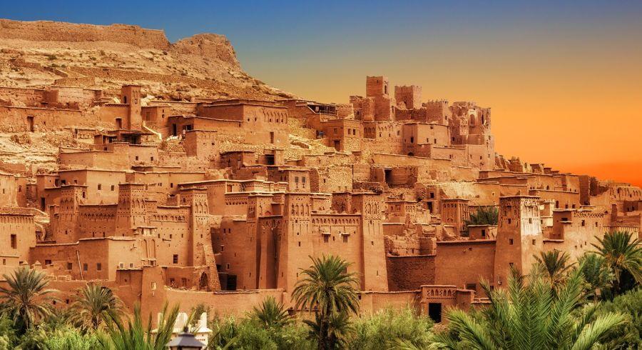 Kasbah Aït Benhaddou, Marokko