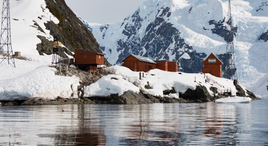 You could visit a research base during your Antarctica tour