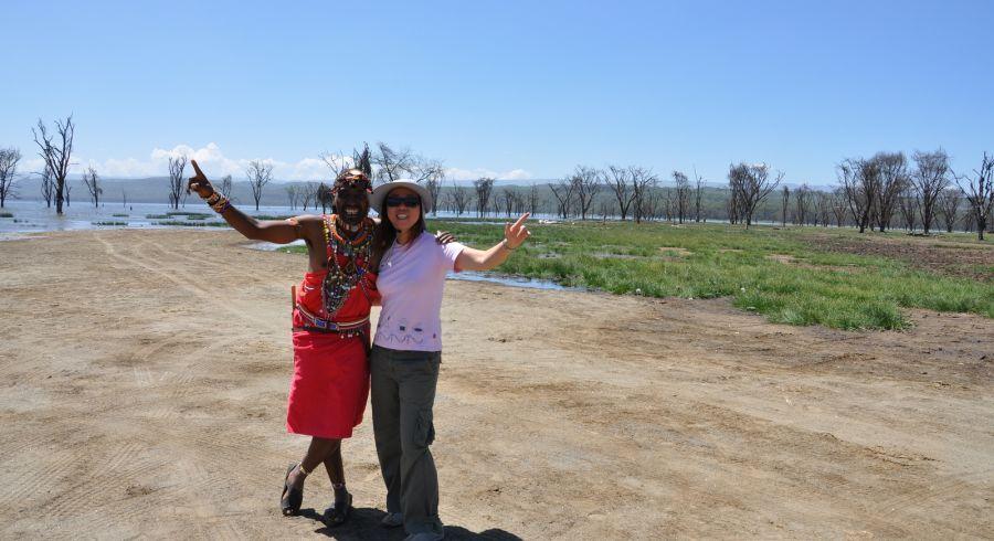 Yanina Carrizo, Enchanting Travels guest, Africa