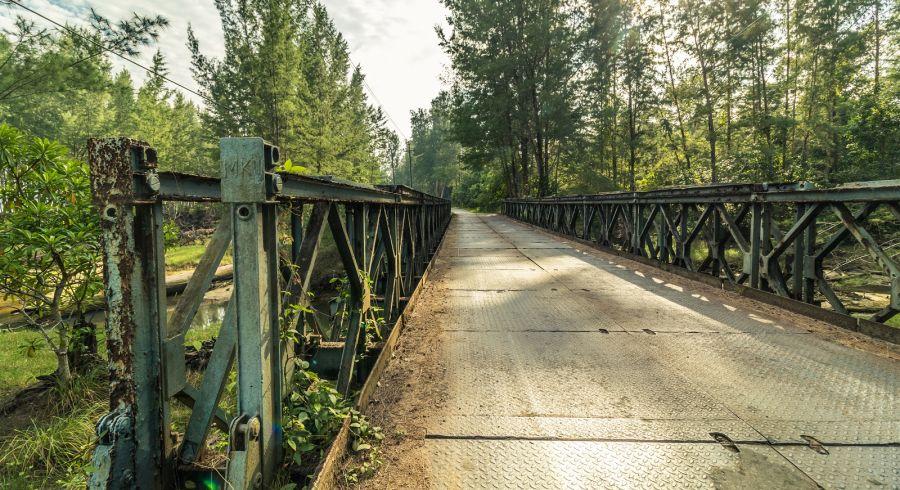 Old bridge in Little Andaman Island
