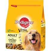 Pedigree Dry Complete Adult Chicken And Vegetable Dog Food
