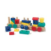 Carters Melissa Doug Wooden Stacking Train Game