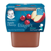 Gerber Pudding Apple Cherry 2nd Baby Foods