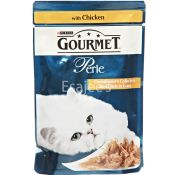 Purina Gourmet Perle Mini Chicken Fillet In Gravy Pouch