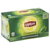 Lipton  Tea Green Decaffeinated
