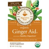 Traditional Medicinals Organic Ginger Aid Tea Bags