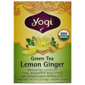 Yogi Teas Lemon Ginger Green Tea