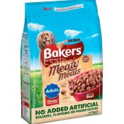 Bakers Complete Adult Meaty Meals Beef Dog Foods