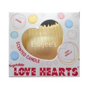 Swizzels Love Hearts Strawberry Kiss Scented Candle