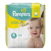 Pampers Premium Protection Nappies Size - 4