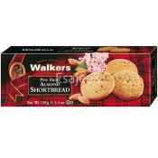 Walkers Biscuits Crackers Pure Butter Short Bread Almonds