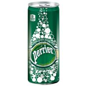 Perrier Natural Mineral Water Canned