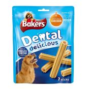 Bakers Dog Foods Dental Delicious with Chicken