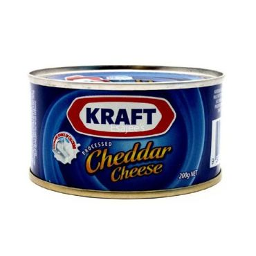 Kraft Processed Cheddar Cheese Can