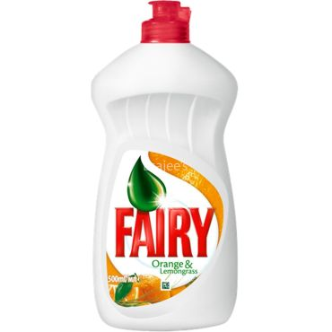 Fairy  Dishwash Orange & Lemongrass