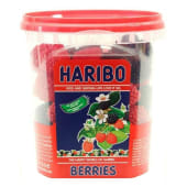 Haribo Jelly Berries Jar