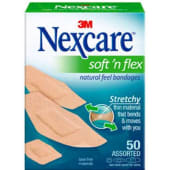 Nexcare Soft N Flex Bandages Assorted