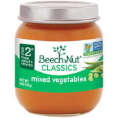 Beech Nut Mixed Vegetables Baby Food 113g