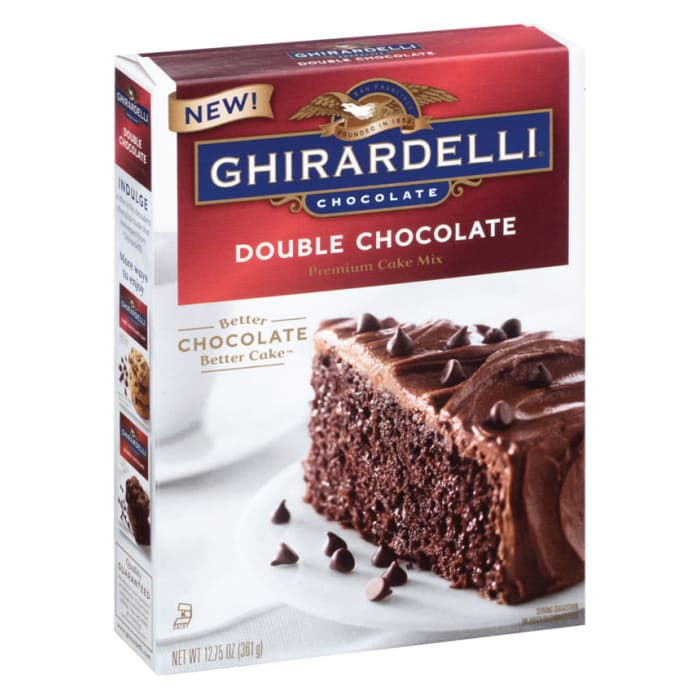 Ghirardelli Double Chocolate Premium Cake Mix 361g