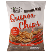 Eat Real Quinoa Chips Hot & Spicy