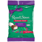 Russell Stover Sugar Free Chocolate Candy Coconut 85g