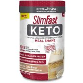 SlimFast Keto Meal Replacement Shake Powder Vanilla Cake Batter 347 Grams